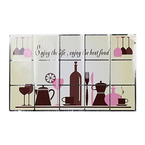 Kitchen Cartoon Wall Stickers Heat Resistant Oil-proof Removable Wall Decor - 2