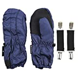 Toddler Boy's (2 - 4) Long Thinsulate Lined / Wateproof Ski Mittens (Navy)