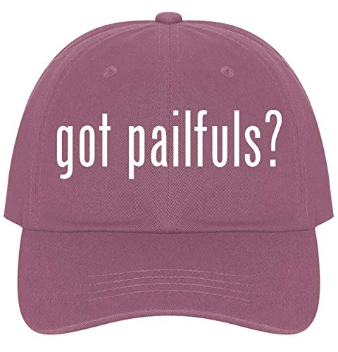 - The Town Butler got Pailfuls? - A Nice Comfortable Adjustable Dad Hat Cap, Pink