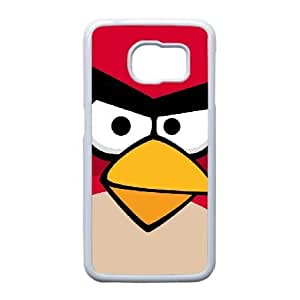 Samsung Galaxy S6 Edge Phone case White Angry birds TRPP4561295