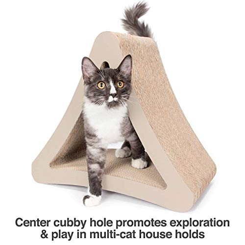 [Múltiples ángulos de arañazos para que coincida con sus preferencias de gato]: Amazon.es: Productos para mascotas
