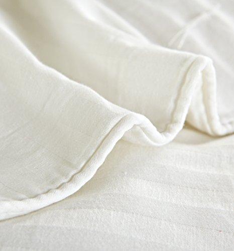 MOON'S SLEEPWARES Crib Size Comforter Cover ONLY (47x59inches) (120x150cm)  SFDWH120x150-0 - Crib Duvet Cover: Amazon.com