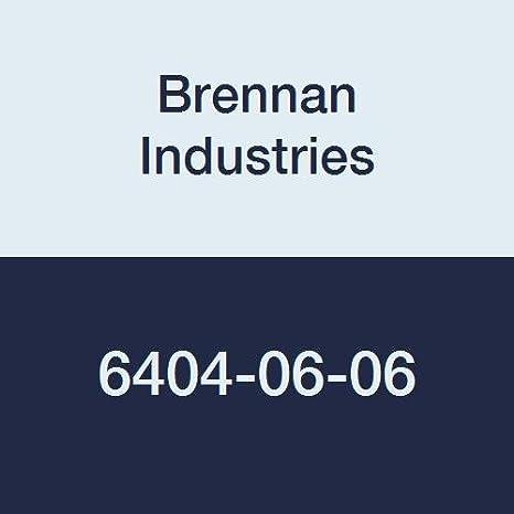 Brennan Industries 6402-06-08-O Steel Straight Tube Fitting 3//8 Male O-Ring Boss x 3//8 Female JIC Swivel 9//16-18 SAE ORB x 3//4-16 SAE Thread