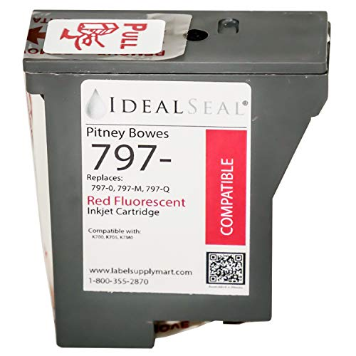 Mail Pitney Station Bowes - Pitney Bowes k7mo Compatible Red Ink Cartridge mailstation2 Pitney Bowes Postage Machine: Pitney Bowes 797 Pitney Bowes k7m0 Ink Cartridge k700 Ink Cartridge Mailstation 2 Ink for Pitney Bowes k7mo