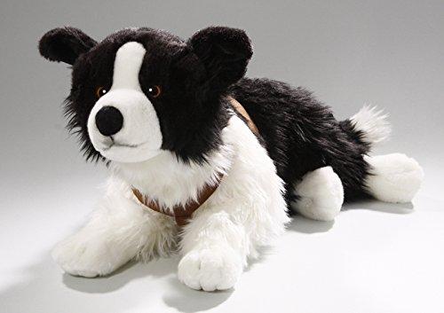 Border Collie Lying 24 inches 55cm Soft Toy Plush Toy Stuffed Animal 3230 Imberi .