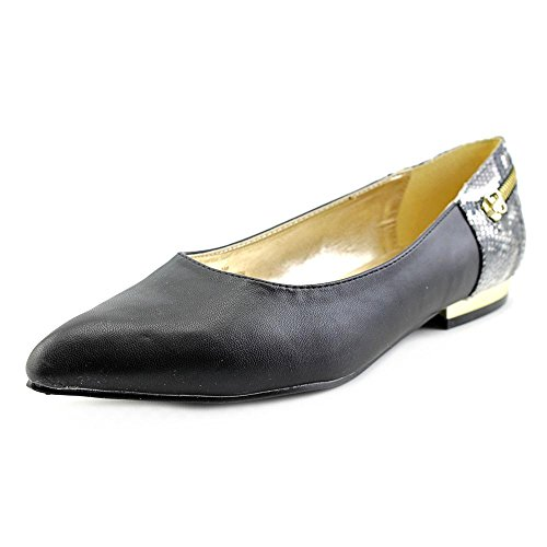 Bellini Women's Nova Fashion Flats, Black Faux Leather, Synthetic, 6 M