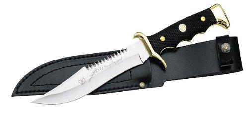 Nieto Nieto Nieto Messer,Klinge 18cm, Messingbeschläge,Lederscheide B000KEBUF0 Gürtelmesser Angenehmes Gefühl 6b903b