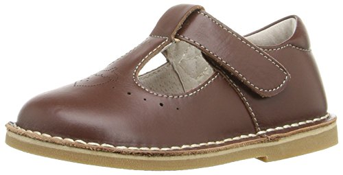 Livie & Luca Girls' Oak Flat, Brown, 10 M US Toddler