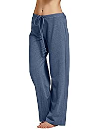 CYZ Womens casual stretch cotton pajama pants simple...