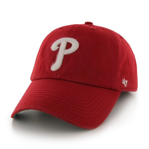 MLB Philadelphia Phillies '47 Franchise Fitted Hat, Red, Large