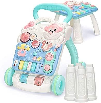 Andador de bebe Baby Toddler Cochecito multifunción antivuelco ...