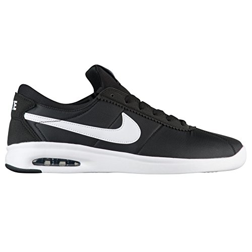 Nike SB AIR MAX Bruin VPR TXT Mens Fashion-Sneakers AA4257-001_10.5 - Black/White-White-Black