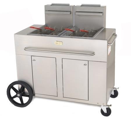 double basket outdoor fryer - 5