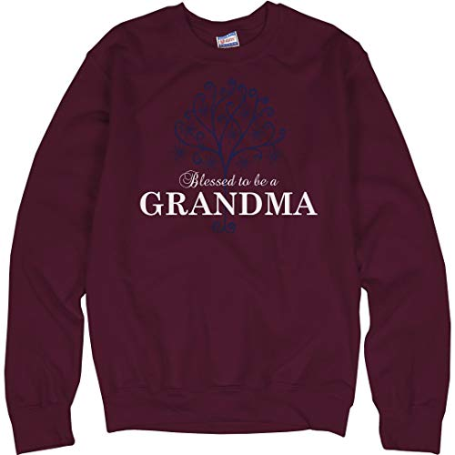 - Customized Girl Blessed to Be A Grandma: Unisex Ultimate Crewneck Sweatshirt