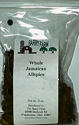 Allspice, Whole, 2 oz.