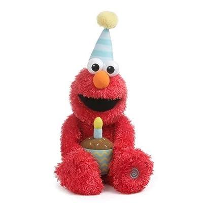 GUND - Animated Happy Birthday Elmo: Toys & Games