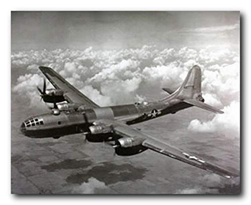 Aviation Wall decor WWII B-29 Super Fortress Airplane Art Print Poster (16x20)