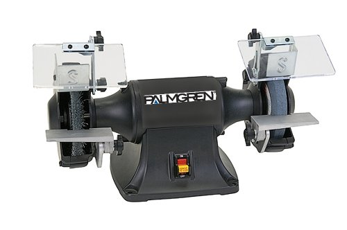 "Palmgren 6"" 1/3HP 115/230V grinder, no dust collection"