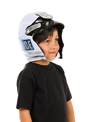 Kids Police Plush Helmet by (Cop And Donut Costume)