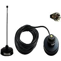 Tram Browning BLACK VHF MAGNET MOUNT ANTENNA KIT MOBILE KENWOOD TK760 TK780 TK7160 TK7180