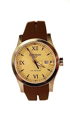 LOCMAN watch ISLAND 0614A04-00SABKSN Men's