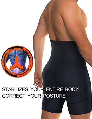 41eqzA A4nL ✅ AGRADABLE & TRANSPIRABLE & SECADO RÁPIDO - El calzoncillos boxer hombre hecho de 85% nylon + 15%, son elásticos, suaves, se adapta perfecto al su cuerpo. Tecnología de absorción de humedad reducir irritante olor a sudor ✅ Adelgazente de la BARRIGA & REDUCE 3 TALLAS - la faja redutora ofrece el mayor control de cintura y abdomen, le hace tener el vientre plano y más delgada. Si le molestan los michelines de la cintural o la grasa en barriga , la faja es un mejor regalo OFERTA,SALE !!!