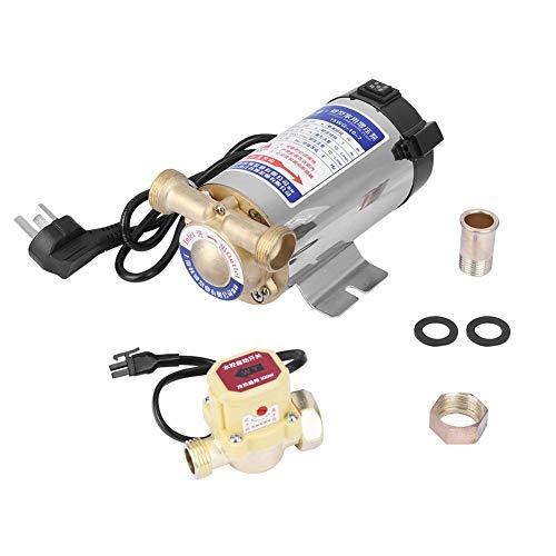 220 V 100 W Auto Hogar Bomba de Impulso de Acero Inoxidable para Agua Tubería fregadero facucet Ducha de presión de Agua…