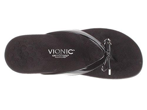 Sandal Toepost Vionic Black Black BellaII Rest Women's xzqq6w0F8