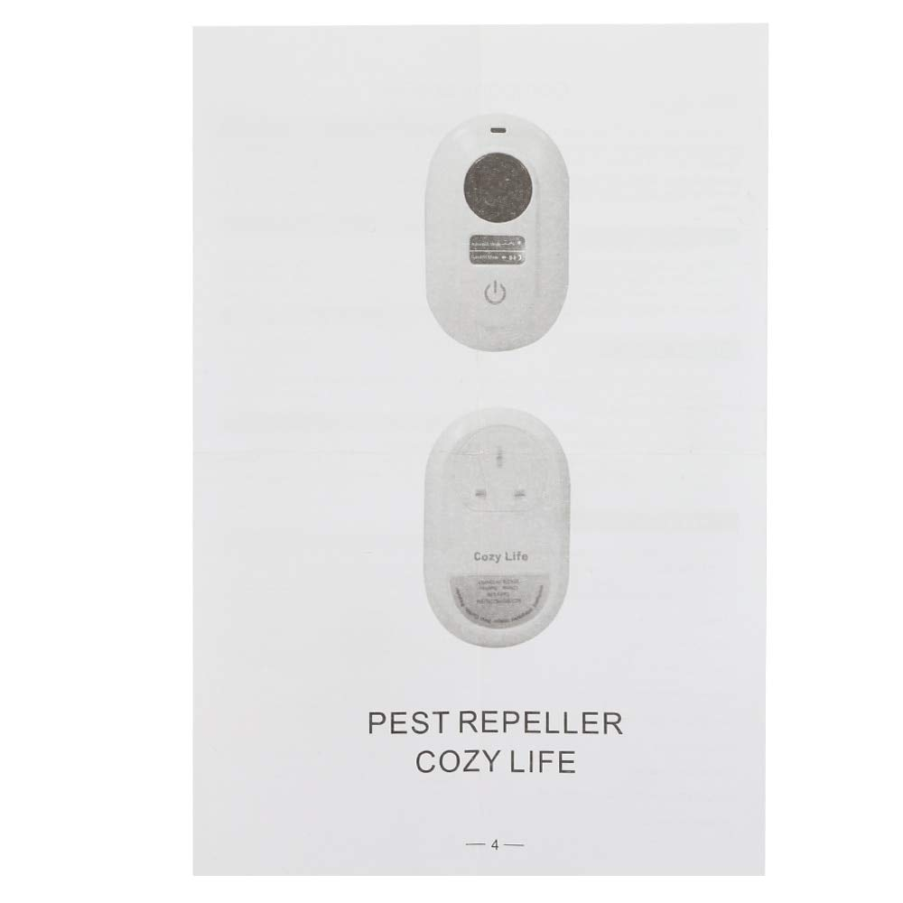 Amazon.com : Alpeft LCD Display Electronic ultrasonic pest Repellent Anti Mosquito Repeller pest Repeller Reject Mouse Anti Rodent Bug Reject ect : Garden & ...