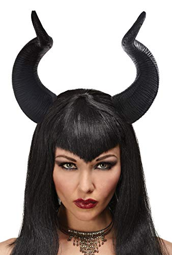 Queen Maleficent Horns Halloween Theme Party Costume Accessories -