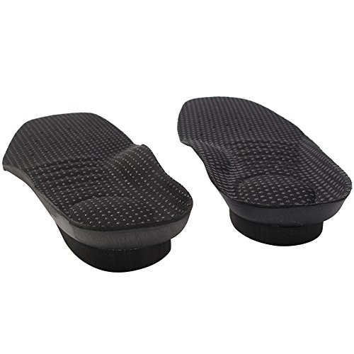 footinsole Comfort Height Increase Heel Lift Inserts Best Shoe Insoles for Men (1 cm (0.4 in) - With Men Jaws Square