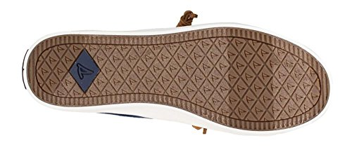 Sperry Top-Sider Womens Crest Vibe Washed Linen Navy Oxford cvuzx8QV
