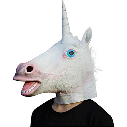 Halloween Party Prom Unicorn Mask Animal