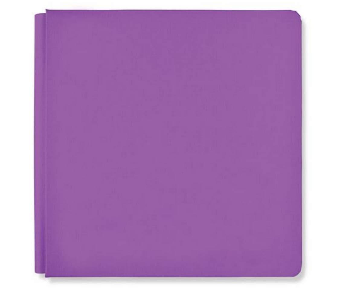 Creative Memories 12x12 Grape Purple Rainbow Rush Album Scrapbook Cover 12x12 True Size