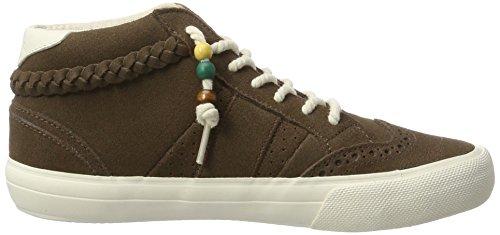 ONeill Waikiki Braided Suede, Sneaker a Collo Alto Donna Beige (Almond)