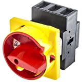 RS Pro 466150 3 Pole Front Panel Mount Non-Fused Switch Disconnector 32 A 11 kW IP65