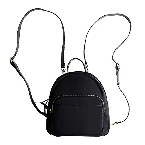 (JUMENG Fashion Oxford Mini Backpacks for Women Girls Small Shoulder Bag)
