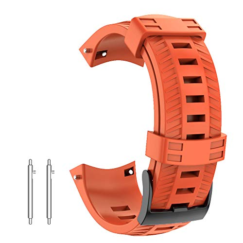 (NotoCity Compatible Suunto 9 Band Soft Silicone Watch Strap for Suunto 9 GPS Baro Replacement Watch Band Sports for Men Women)