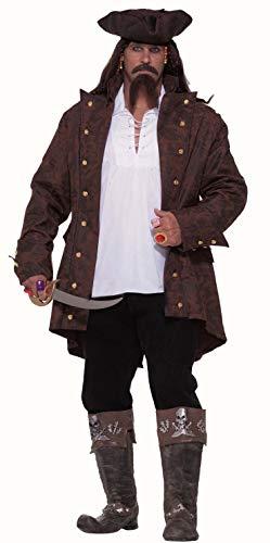 Seinfeld Halloween Costumes (Forum Big-Tall Big Fun Pirate Captain Costume, Multi,)