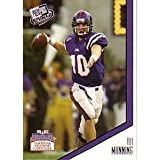 2004 Press Pass LIMITED EDITION - Eli Manning RC - New York Giants Rookie Football Card In Protective Display Case