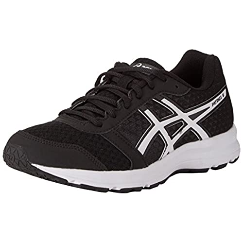 Asics - Curreo, Zapatillas Unisex Adulto, Negro (Black/Atomic Blue 9039), 42 EU