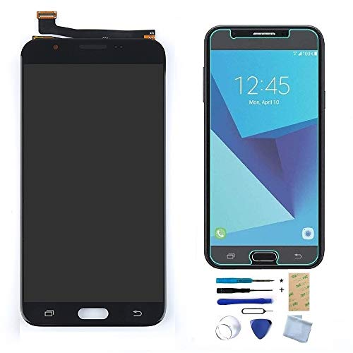 XR MARKET Compatible Samsung Galaxy J7 Sky Pro/Galaxy J7 2017 Screen Replacement, LCD Display Touch Screen Digitizer Assembly, for SM-J727A J727T J727T1 J727V J727P(NOT for Galaxy J7 Prime G610) ()