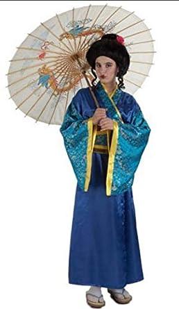 Disfraz de Geisha Masato para niña A-4 años: Amazon.es: Ropa y ...