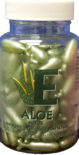 Aloe - Skin Oil Capsules by Easy Comforts 90 capsules Amazing Shine Nails