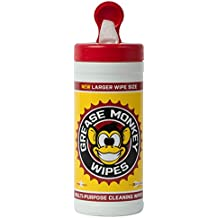 Grease Monkey Wipes 25 Wipe Canister,8 inch x 12 inch