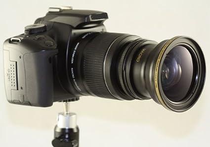 amazon com professional fisheye wide angle 0 30x lens kit for