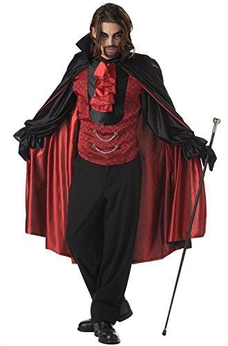 California Costumes Men's Count Blood Thirst Costume, -