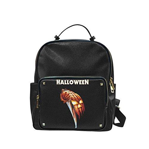 Navarro Halloween October 31 Jack O Lantern Unisex Leisure Backpack School Leisure Shoulder Bag