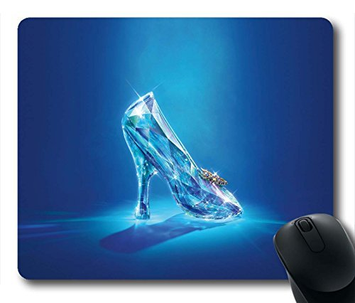 Gaming Mouse Pad, Cinderella Lost Shoe Personalized MousePads Natural Eco Rubber Durable Design Computer Desk Stationery Accessories Gifts For Mouse Pads - Cinderellas Lost Shoe