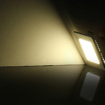 Souked Dimmable 21W Square LED Panel Ceiling Down Light Lamp AC 85-265V - White